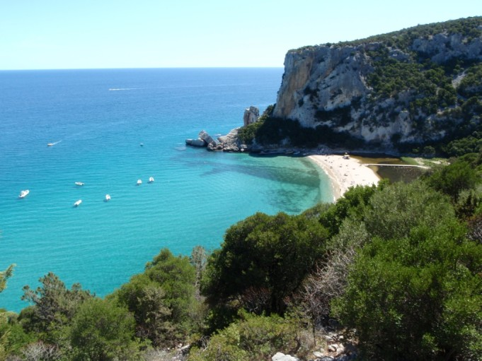 Wandern und Klettern an der Ostküste Sardiniens, Cala di Luna