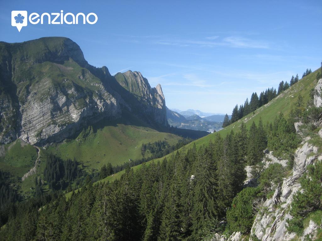 Klettern am Brüggler, GL Schweiz