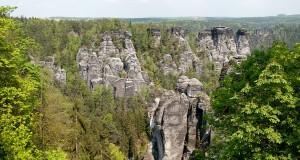 Klettern im Elbsandstein