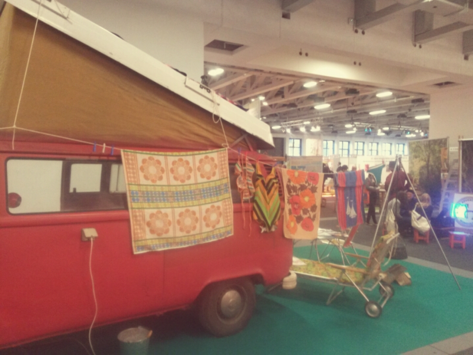 Campingbus auf der ITB