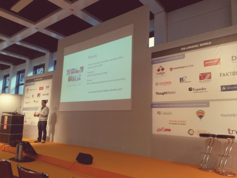 Komoot Vortrag auf der ITB Berlin 2014