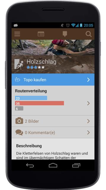 App fürs Klettern