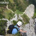 Klettern auf der Kampenwand (Überschreitung)