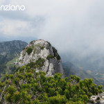 18-Klettern-Kampenwand-Blick-auf-Sonnenalm-und-Westgipfel