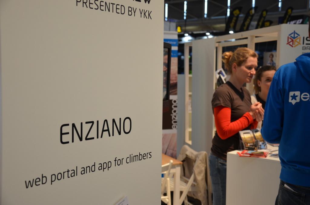 enziano - Webportal und App für Kletterer