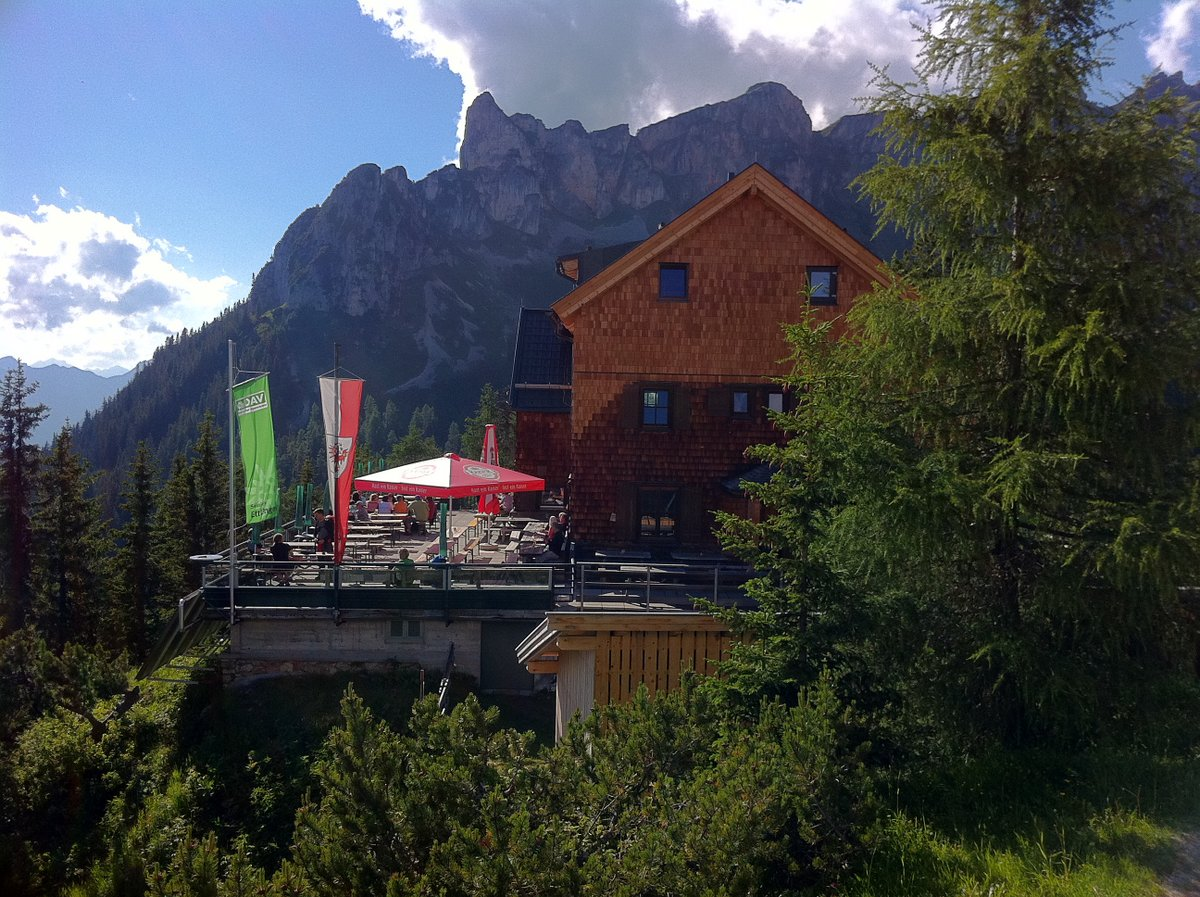Erfurter Hütte oberhalb des Achensees