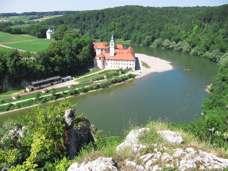Donaudurchbruch Kloster Weltenburg Wanderung