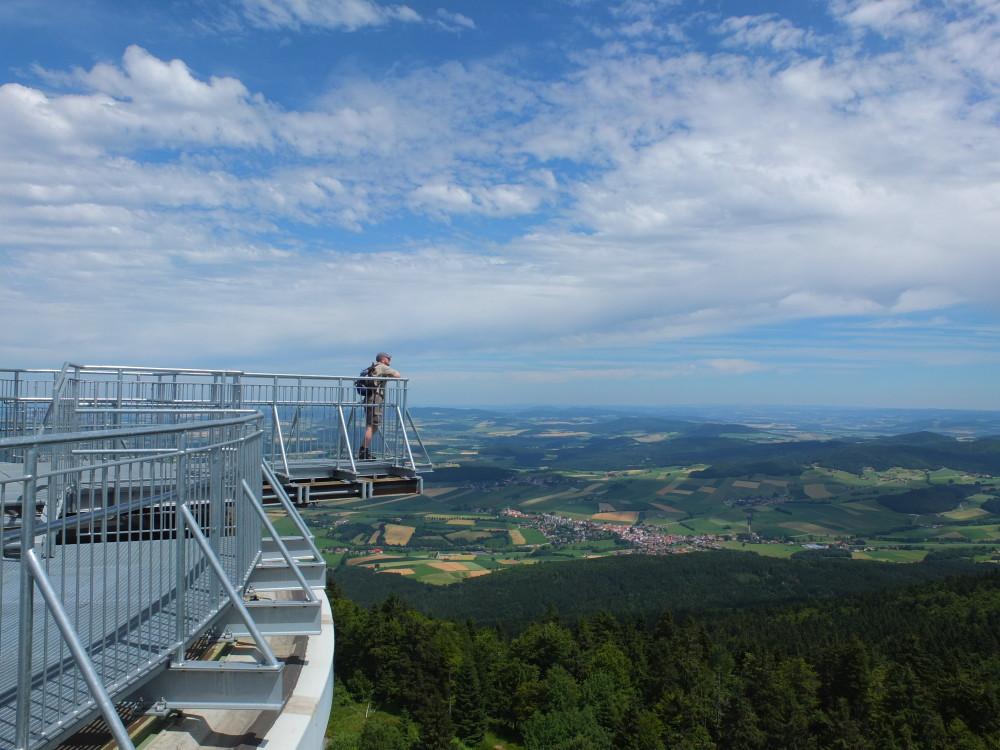 Natoturm Bayerischer Wald schönste Aussicht