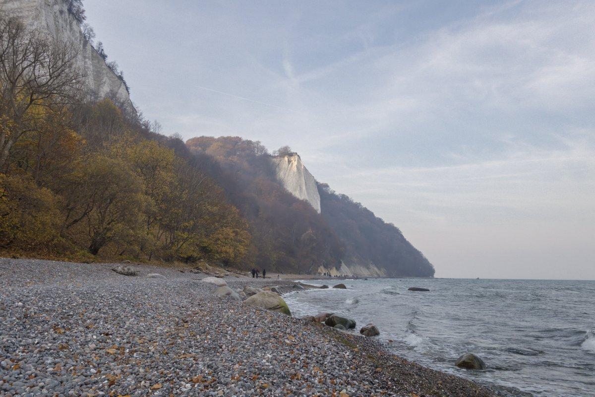 Wandern auf Rügen zu den bekannten Kreidefelsen
