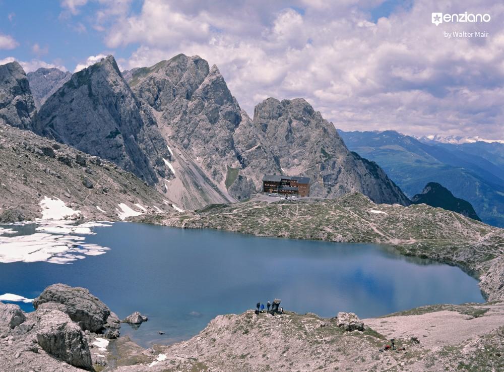 Wandern in Österreich: In Osttirol Süd zur Karlsbader Hütte