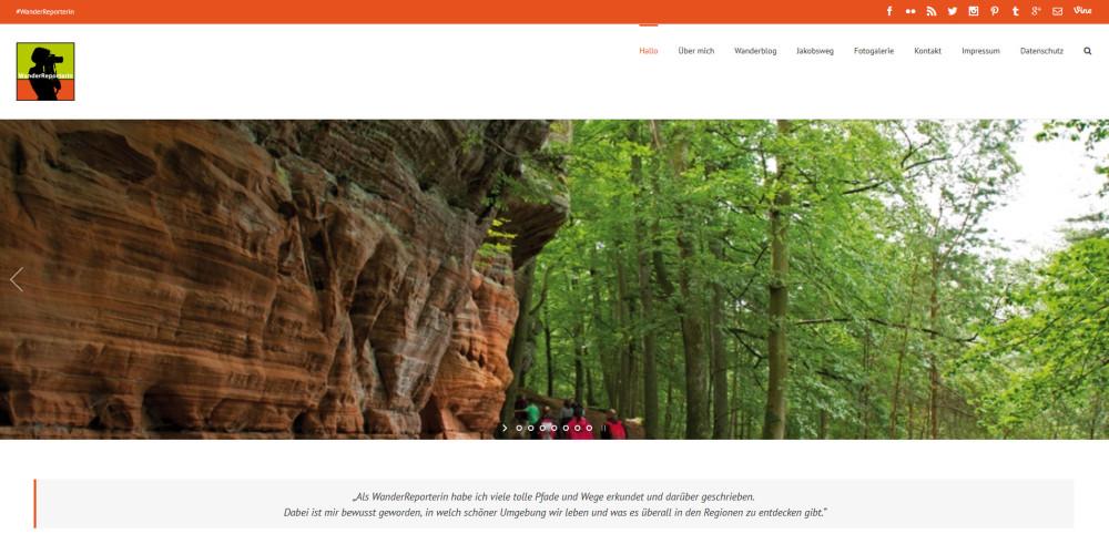 Screenshot WanderReporterin