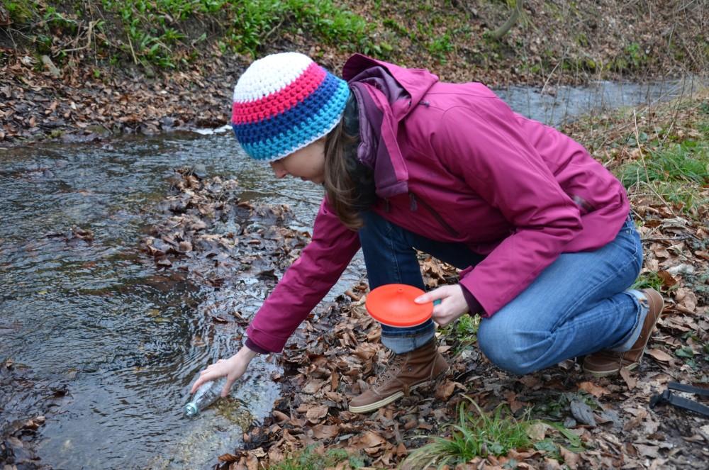Outdoortest-Wasserfilter