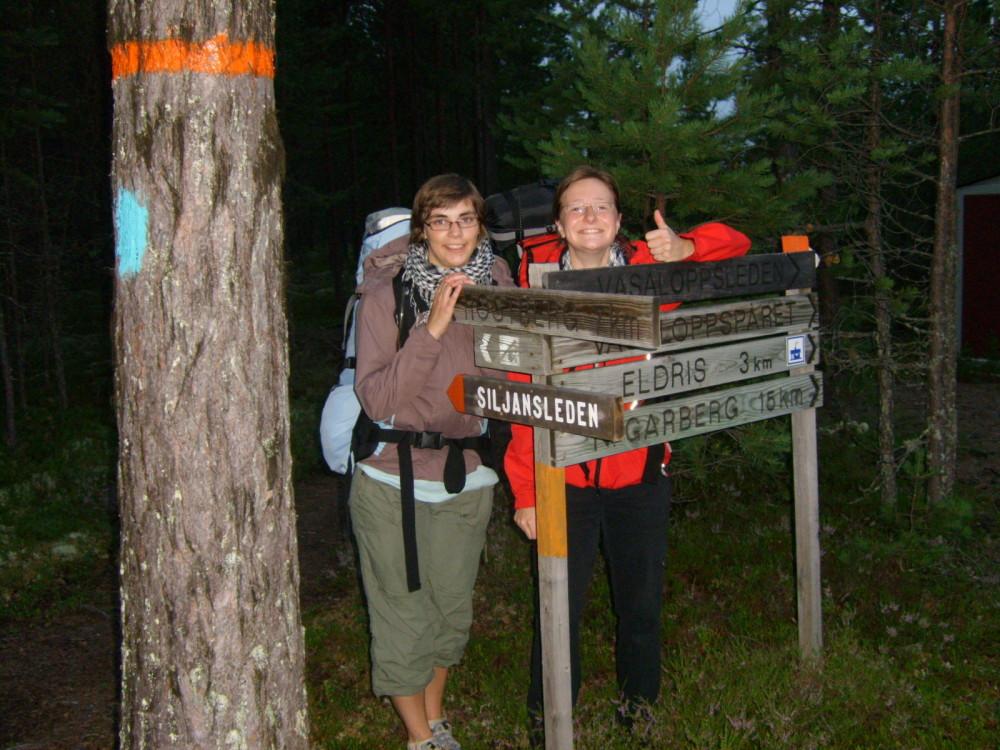 Trekkingtour im schwedischen Siljansleden (Foto: Stefanie Wolske)