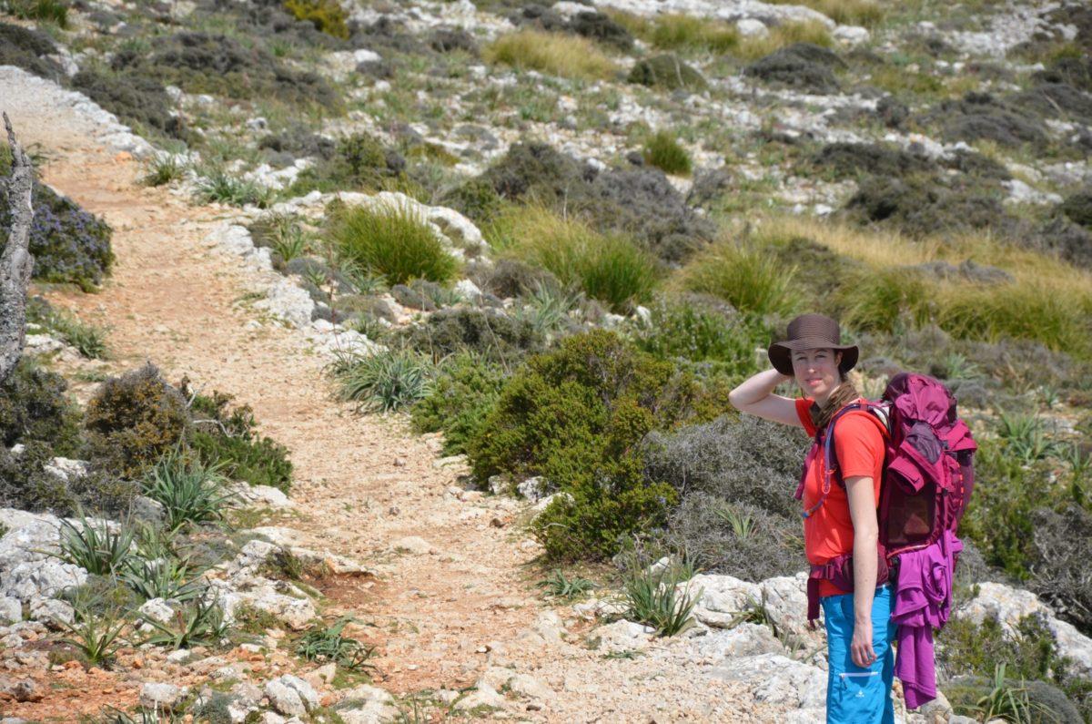 Beim Wandern auf Mallorca hat mir der Kyte 36 gute Dienste geleistet