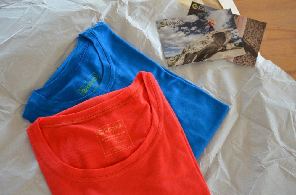 Merinoshirts auspacken