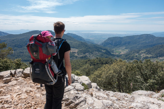 Wandern mit Baby auf Mallorca Titelbild