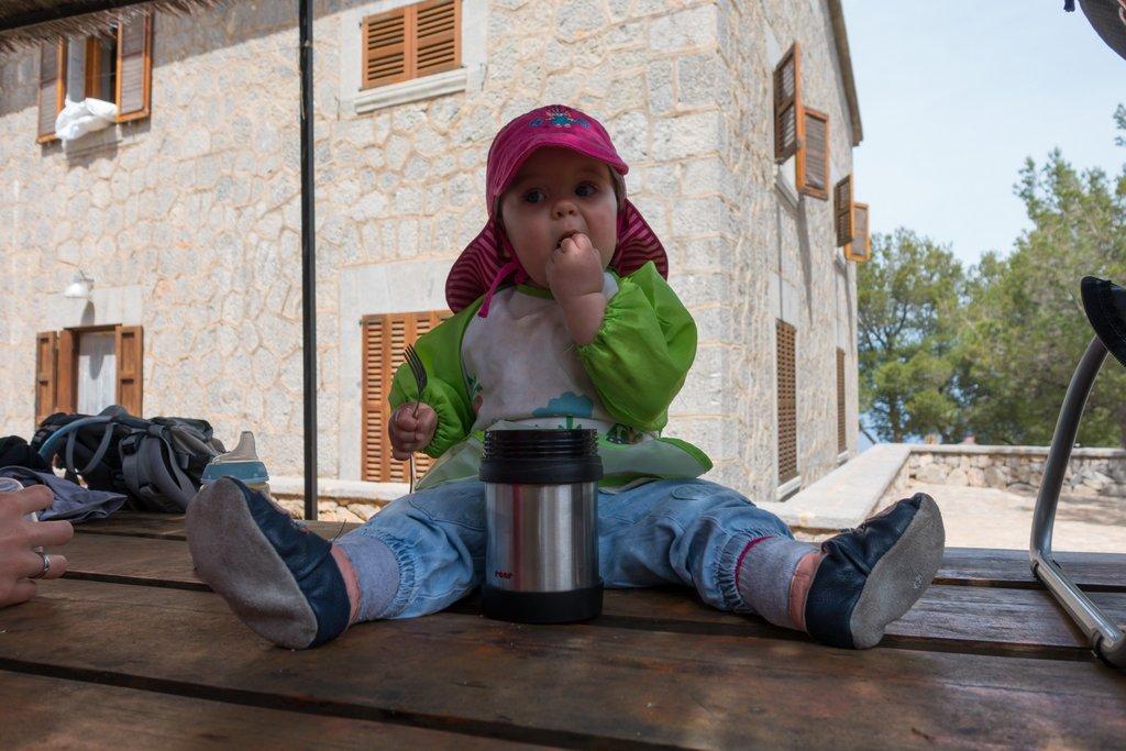 Wandern mit Baby auf Mallorca Warmhaltebox
