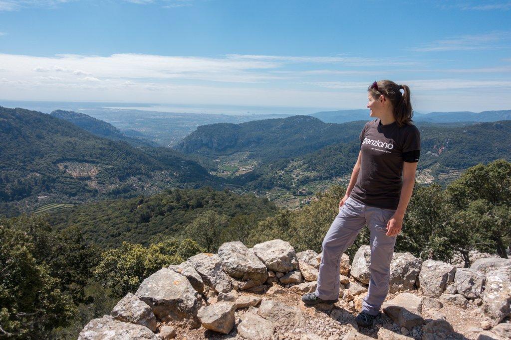 Wandern mit Baby auf Mallorca enziano Valdemossa
