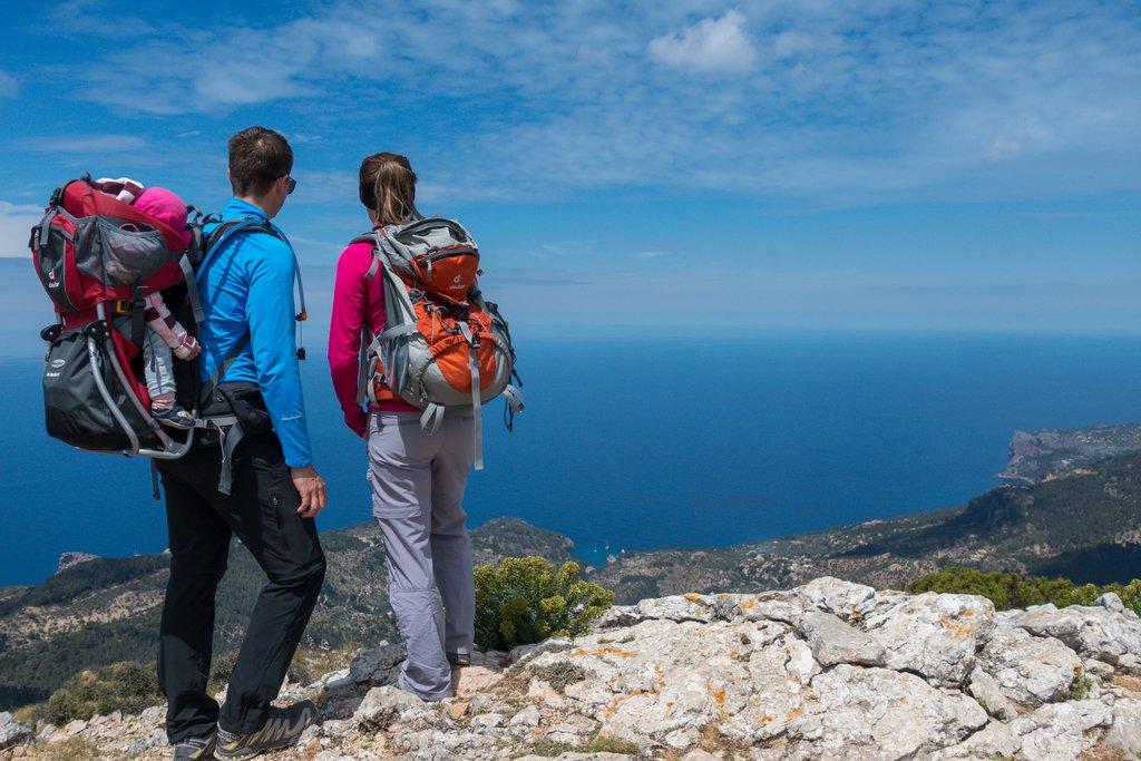 Wandern mit Baby auf Mallorca