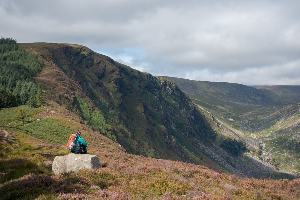 Wandern in Irland Wicklow Mountains NP